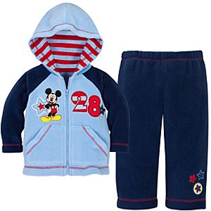 Mickey Mouse Fleece Set for Baby Boys -- 2-Pc.