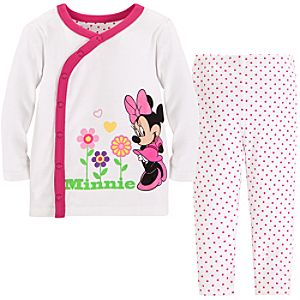 Minnie Mouse Sleep Set for Baby Girl -- 2-Pc.