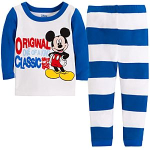 Original Mickey Mouse Sleep Set for Baby Boys -- 2-Pc.