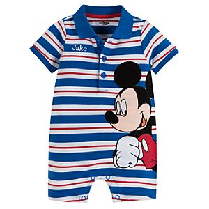 Mickey Mouse Tiny Polo Coverall for Baby Boy