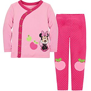 Minnie Mouse Sleep Set for Baby Girls -Personalizable