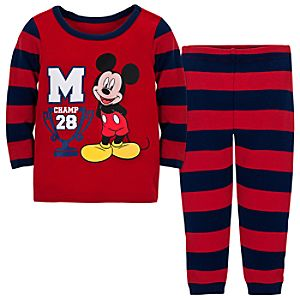 Mickey Mouse Sleep Set for Baby Boy -- 2-Pc.