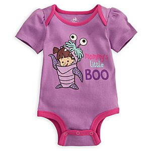 Boo Disney Cuddly Bodysuit for Baby - Monsters, Inc.