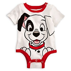 Patch Disney Cuddly Bodysuit for Baby - 101 Dalmatians