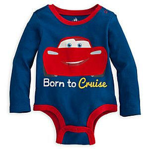 Cars Disney Cuddly Bodysuit for Baby