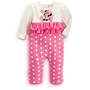 Minnie Mouse Coverall for Baby