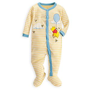Winnie the Pooh Stretchie Sleeper for Baby