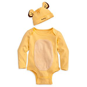 Simba Disney Cuddly Bodysuit Set for Baby - Personalizable