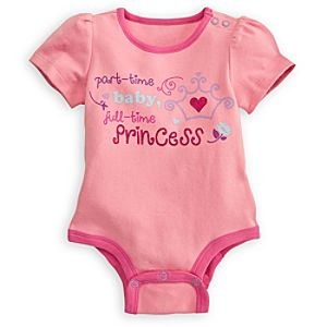 Princess Disney Cuddly Bodysuit for Baby