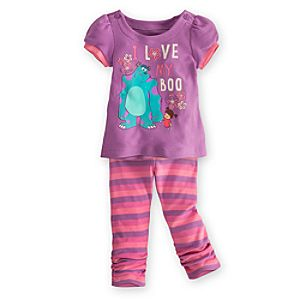 Monsters, Inc. Dress and Leggings Set for Baby
