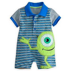 Mike Wazowski One Piece for Baby