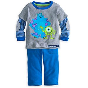 Monsters, Inc. Tee and Pants Set for Baby