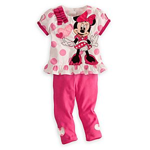 Minnie Mouse Shirt and Leggings Set for Baby