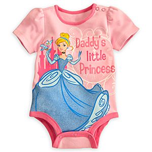 Cinderella Disney Cuddly Bodysuit for Baby