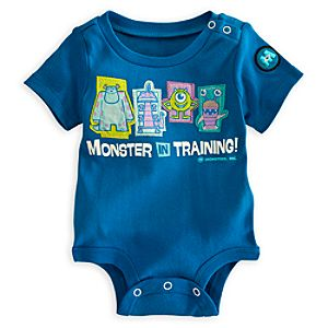 Monsters, Inc. Disney Cuddly Bodysuit for Baby