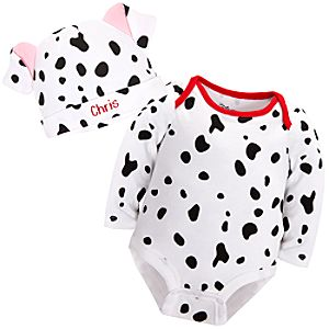 101 Dalmatians Disney Cuddly Bodysuit Set for Baby - Personalizable