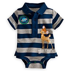 Bambi Polo Disney Cuddly Bodysuit for Baby
