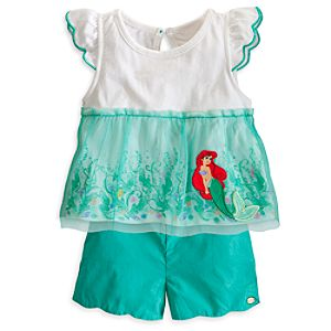 Ariel Top and Shorts Set for Baby