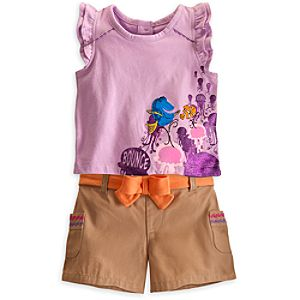 Finding Nemo Top and Shorts Set for Baby