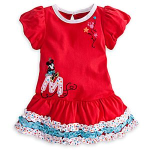 Minnie Mouse Ruffle Dress for Baby