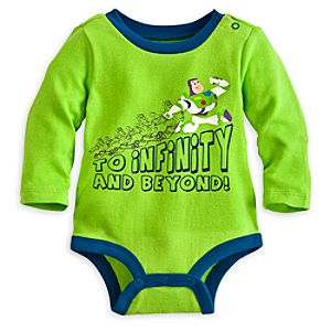 Buzz Lightyear Disney Cuddly Bodysuit for Baby