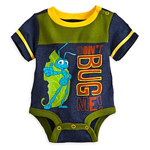 Flik Disney Cuddly Bodysuit for Baby - A Bugs Life