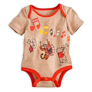 Winnie the Pooh and Pals Disney Cuddly Bodysuit for Baby