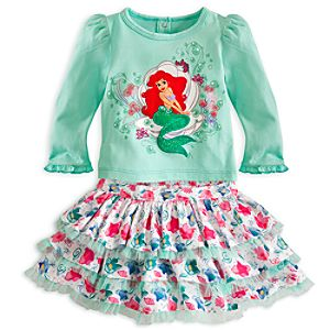 Ariel Skirt Set for Baby