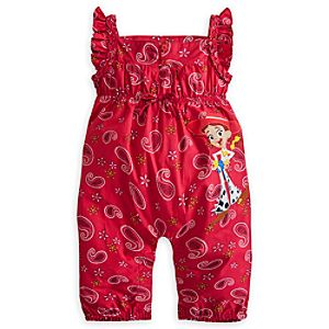 Jessie Woven Romper for Girls