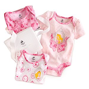 Aurora Disney Cuddly Bodysuit Set for Baby