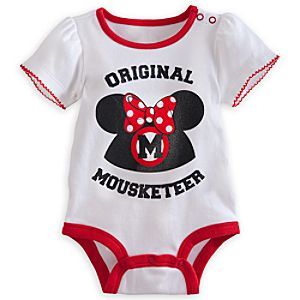 Mickey Mouse Club Disney Cuddly Bodysuit - Minnie