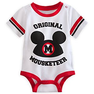 Mickey Mouse Club Disney Cuddly Bodysuit - Mickey