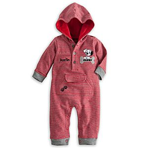 101 Dalmatians Hooded Romper for Baby – Personalizable