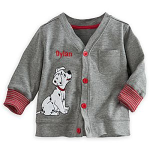 101 Dalmatians Knit Jacket for Baby - Personalizable