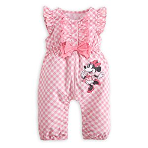 Minnie Mouse Sleeveless Romper for Baby