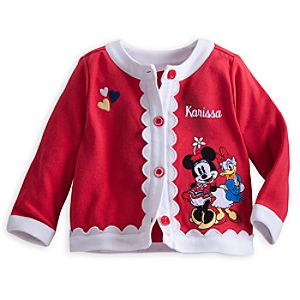 Minnie Mouse and Daisy Duck Jacket for Baby - Personalizable