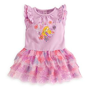 Rapunzel Tutu Dress for Baby