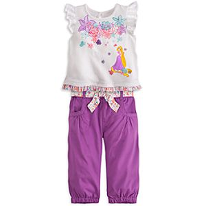 Rapunzel Top and Pants Set for Baby