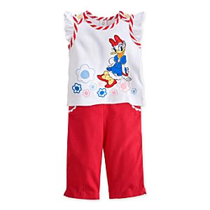 Daisy Duck Tank and Pants Set for Baby