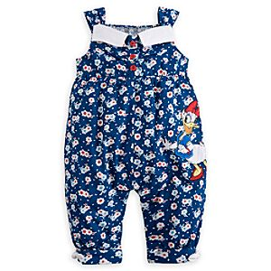 Daisy Duck Woven Romper for Baby