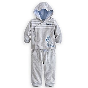 Tramp Hoodie and Pants Set for Baby - Personalizable