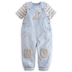 Tramp Dungaree Set for Baby