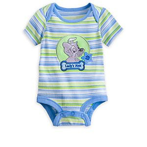 Tramp Disney Cuddly Bodysuit for Baby