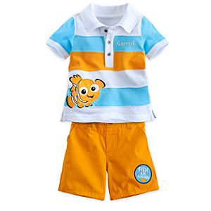 Nemo Polo Shirt and Shorts Set for Baby - Personalizable