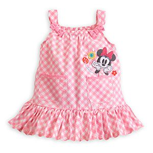 Minnie Mouse Woven Sundress Set for Baby