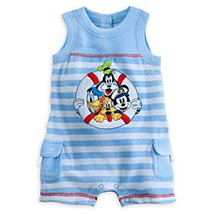 Mickey Mouse and Friends Tank Romper for Baby