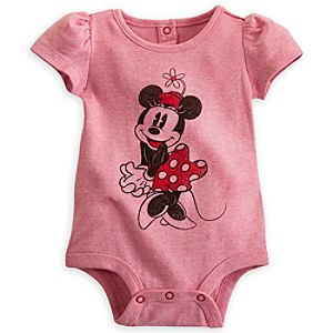Minnie Mouse Classic Disney Cuddly Bodysuit for Baby
