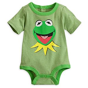 Kermit Disney Cuddly Bodysuit for Baby