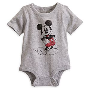 Mickey Mouse Classic Disney Cuddly Bodysuit for Baby