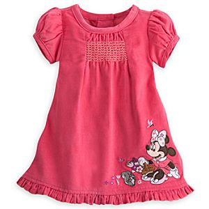 Minnie Mouse Woven Corduroy Dress for Baby
